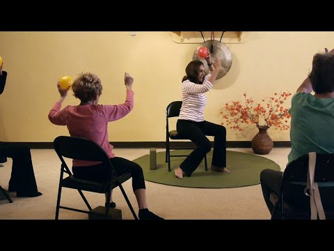 """Not Your Same Ole Chair Yoga Class!"" Pinush gets Creative Again! with Pinush Chauhan"