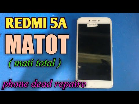 redmi-5a-mati-total-kena-air-(-dead-phone-problem-solution-)