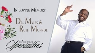 Dr. Myles Munroe Memorial | with Stephen D. Lewis