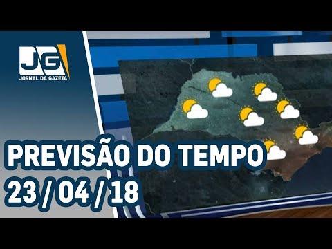 Previsão do Tempo - 23/04/2018