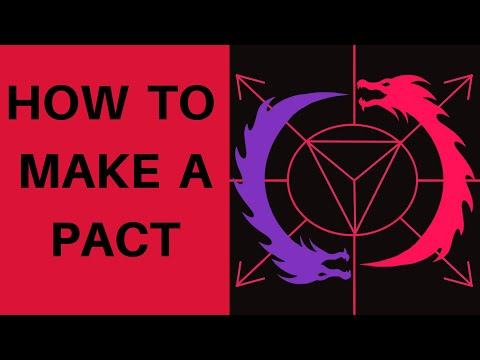 How To Make A Pact With A Deity Or Demon