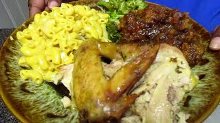How To Make Oven Roasted Chicken With Candied Yams Dinner