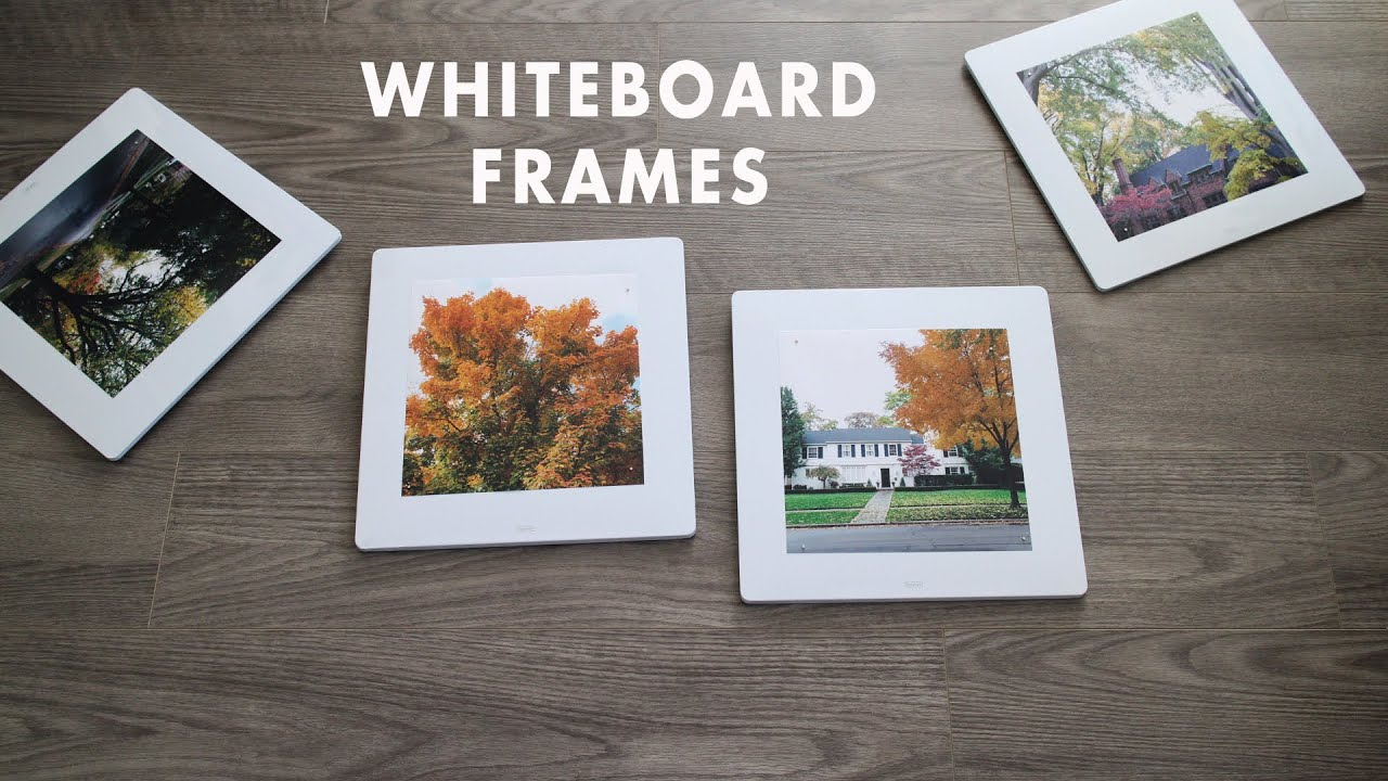 Make it yourself magnetic whiteboard frames youtube make it yourself magnetic whiteboard frames solutioingenieria Choice Image