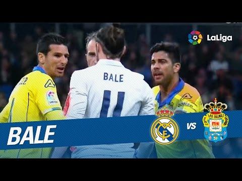 Expulsión de Bale por una entrada a Jonathan Viera