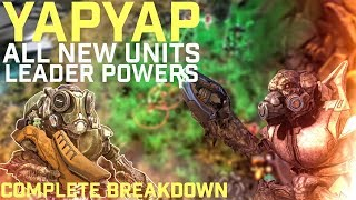 Halo Wars 2 - YapYap The DESTROYER All New Units and Leader Powers