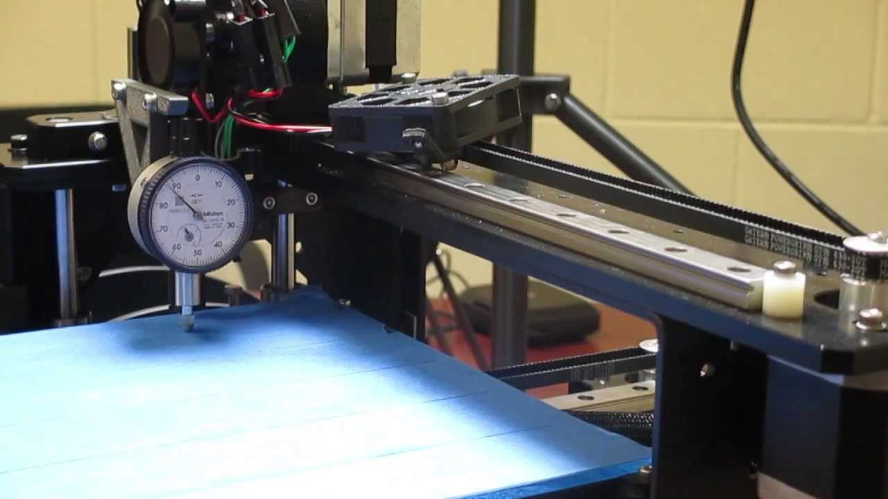 Bed Leveling And Z Offset Calibration Makergear M2 Youtube