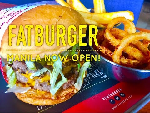 Fatburger Glorietta Makati Metro Manila Philippines Now Open! by HourPhilippines.com
