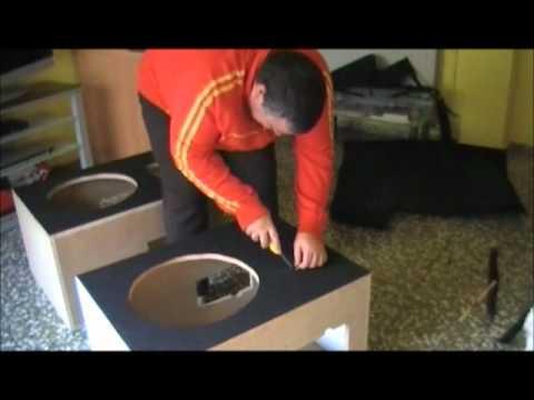 Como hacer unos altavoces en casa