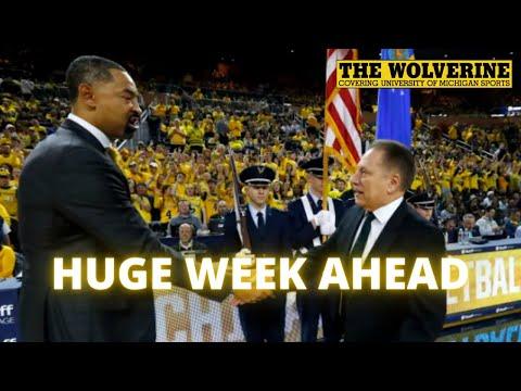 JUWAN HOWARD VS. TOM IZZO | Previewing Michigan vs. Illinois, MSU | Football's New QB Alan Bowman
