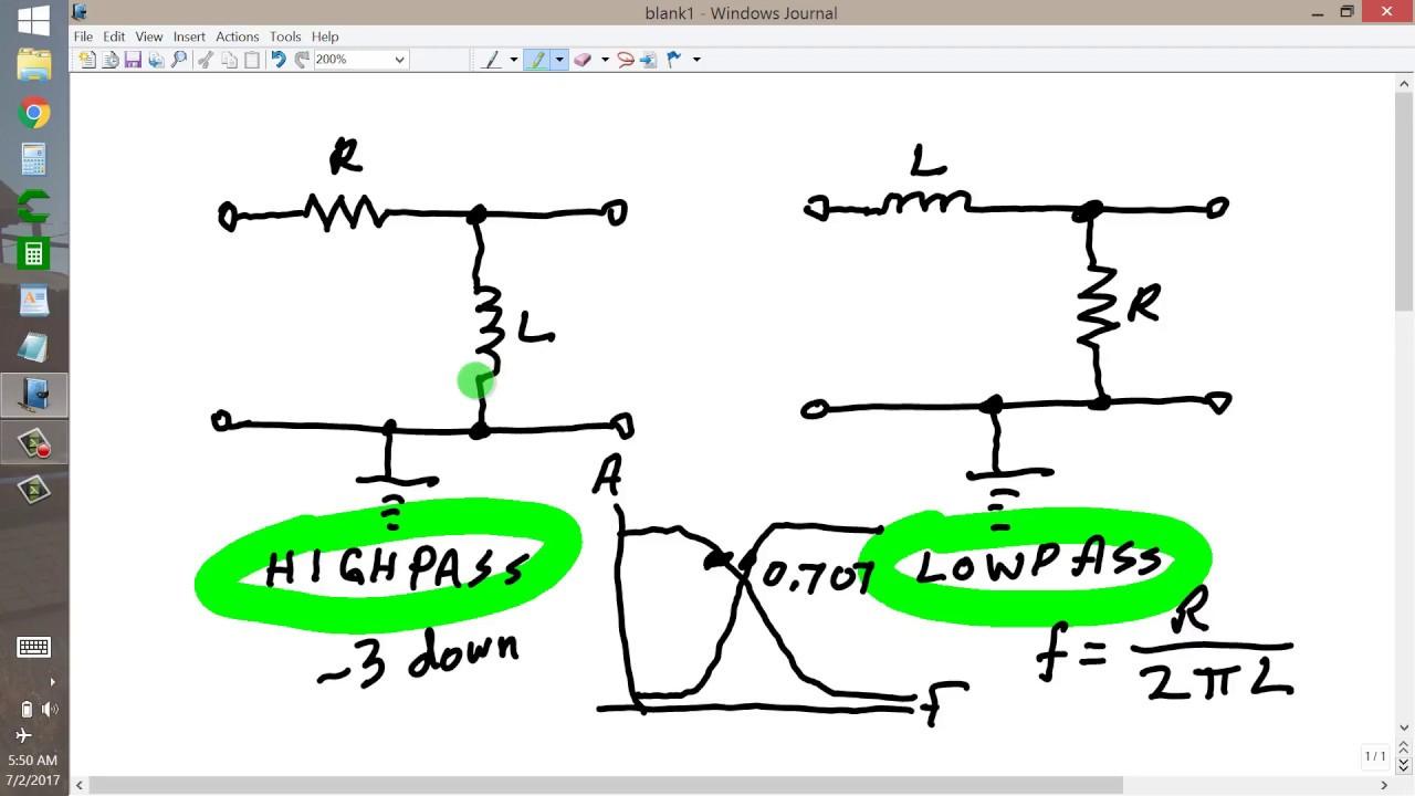 High Pass Filter Circuit Diagram
