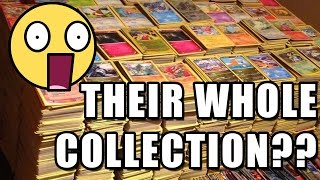SOMEONE SENT US THEIR ENTIRE COLLECTION OF POKEMON CARDS!!!
