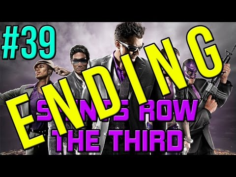 Saints Row The Third Walkthrough Part 39 ENDING - Gangstas In Space