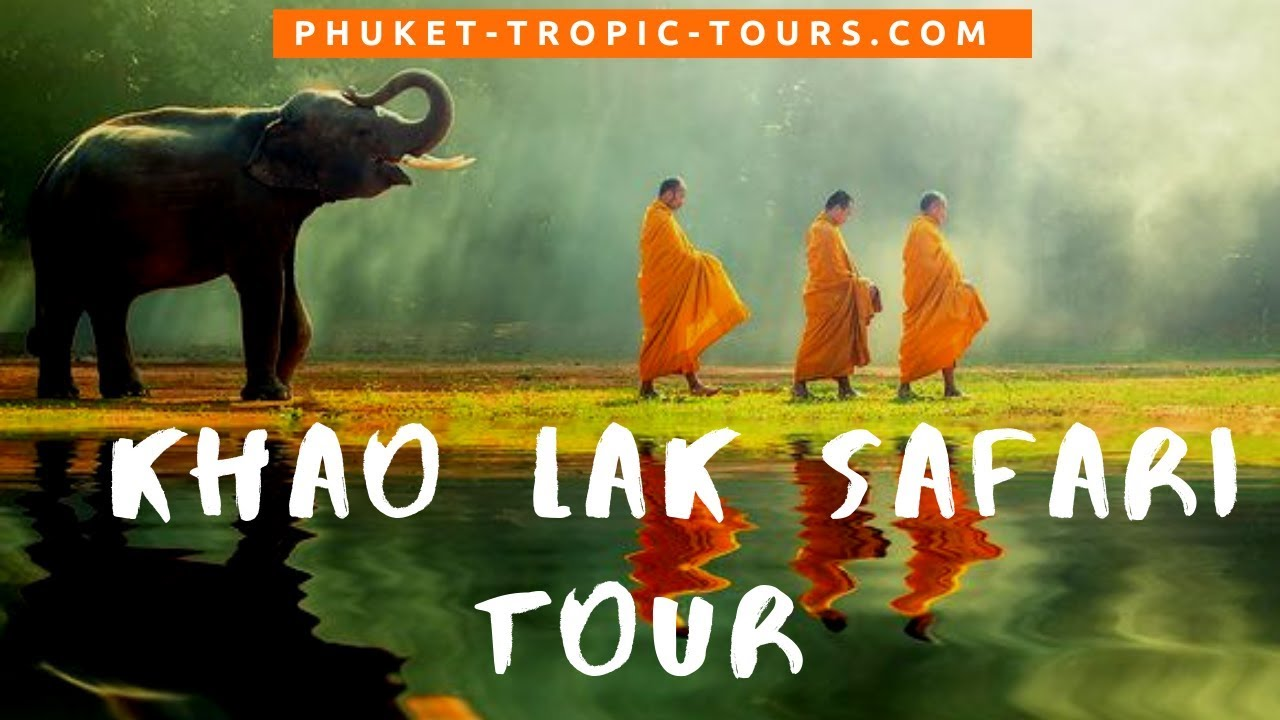 Khao Lak Safari day tour video overview: