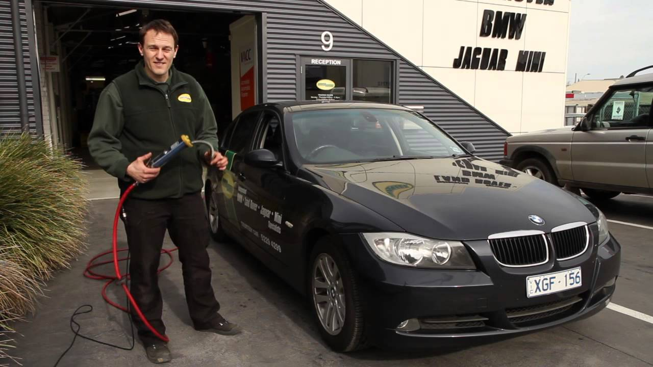 Checking Tyre Pressure  Setting Tyre Pressure Monitor in BMW E90