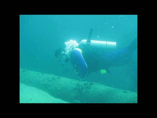 DIVING IN ARUBA SHIPWRECK