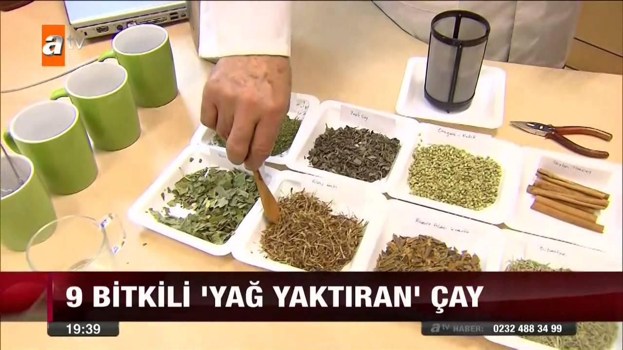 Yağ Yakıcı Çay Tarifleri