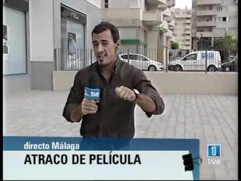 Atraco De Película En Málaga