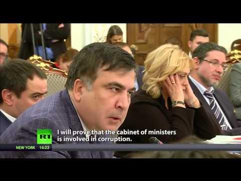 Ukraine cabinet meeting ends in argument