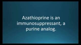 Video How to pronounce azathioprine (Imuran) (Memorizing Pharmacology Video Flashcard) download MP3, 3GP, MP4, WEBM, AVI, FLV Agustus 2018