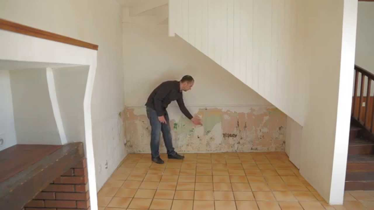 Solution et traitement contre l 39 humidit traitement anti for Humidite sur mur interieur