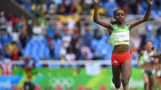 Rio Olympics 10000m NEW WORLD RECORD!! by Almaz Ayana