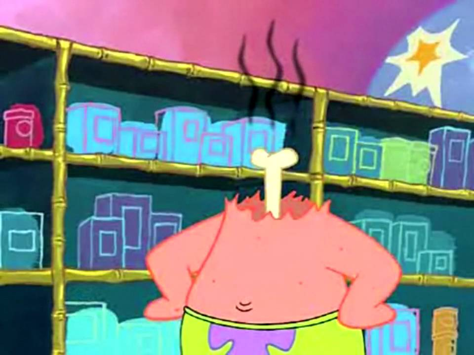 Patrick Star - I Don't Get It - YouTube