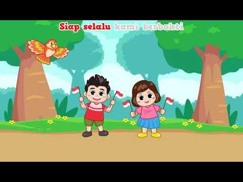 Lagu Bendera Merah Putih Lagu Nasional Anak Youtube