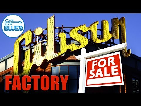 Gibson is Selling their Memphis Guitar Factory!