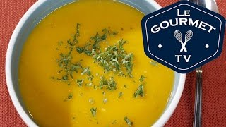 Roasted Sweet Potato Soup Recipe - Legourmettv