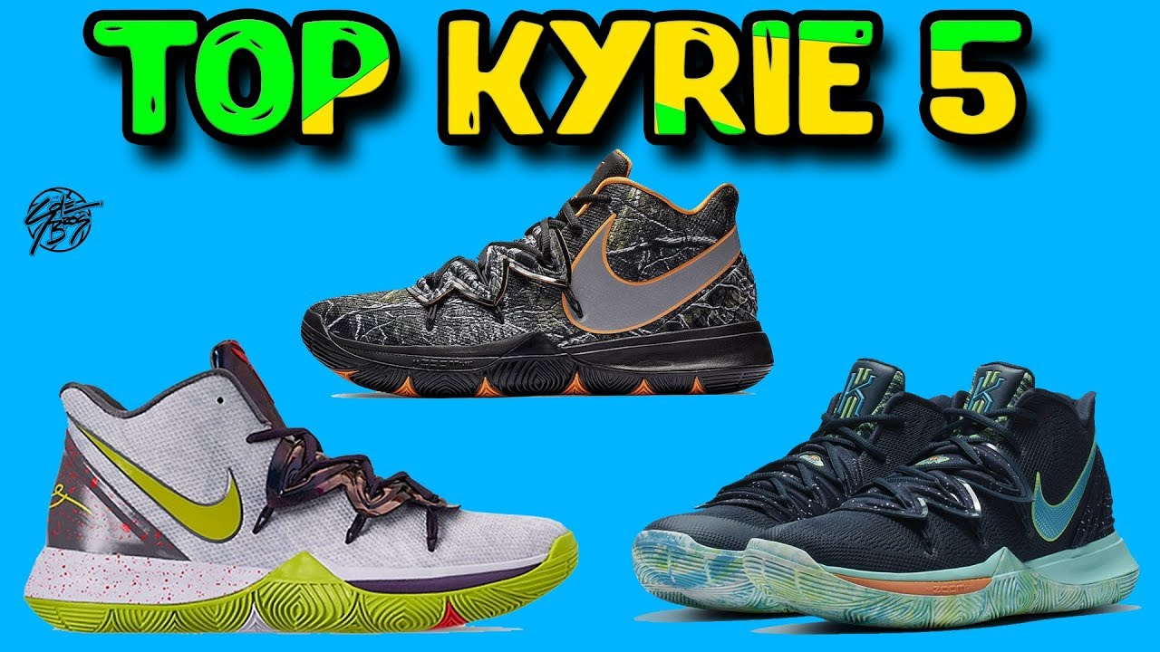 Top 10 Nike Kyrie 5 Colorways! - YouTube