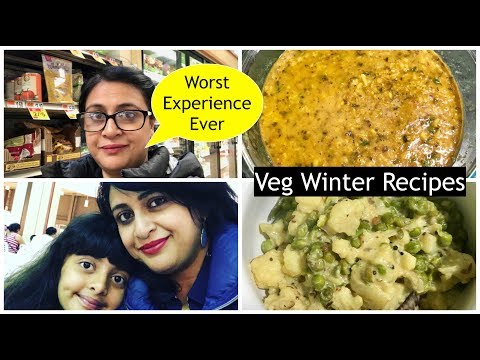 Vlog  : Worst Day Of My Life | Prepared Veg Winter Lunch | S