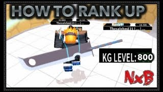 HOW TO RANK UP!!| HIGH KG LEVEL!!! | ROBLOX Naruto RPG: Beyond |