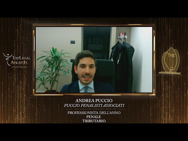 Andrea Puccio, Puccio Penalisti Associati - TopLegal Awards 2020