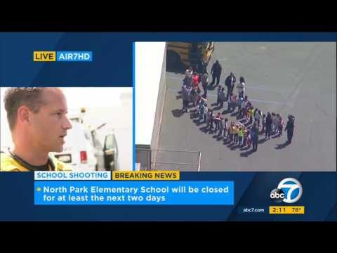 4.10.17 - ABC7 2PM - North Park Elementary School Shooting
