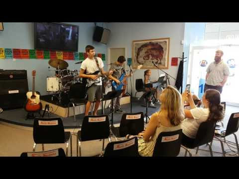 Music Masters Rock Camps Week Six 1/4  Seven Nation Army