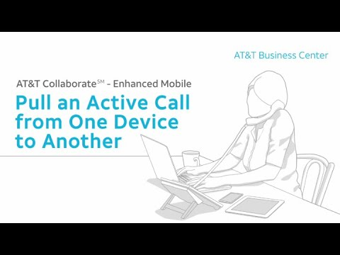 Enhanced Mobile: Pull An Active Call From One Device To Another