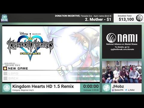 Kingdom Hearts HD 1.5 Remix (Beginner) by JHobz (RPG Limit Break 2016 Part 10)
