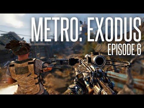 MIDNIGHT CROSSBOW HUNTER - Metro: Exodus Walkthroughski Episode 6