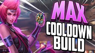 Smite: Discordia MAX COOLDOWN Build - THE 2 SECOND UNRULY MAGIC!?