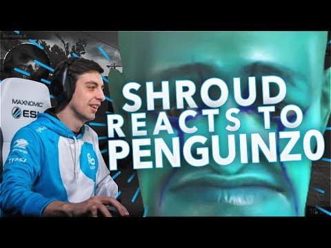 SHROUD REACTS TO: PENGUINZ0