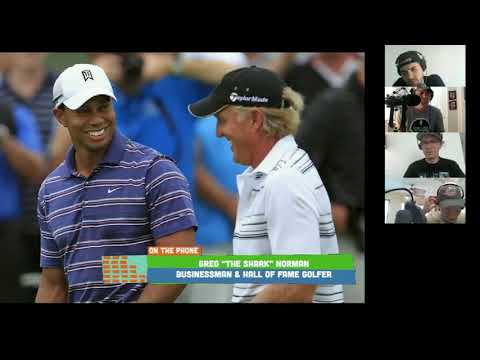 Greg Norman Talks Quarantine And Relationship With Tiger Woods - Apr 8, 2020