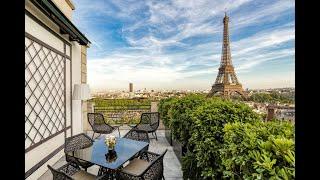 Suite Chaillot Shangri La Hotel, Paris