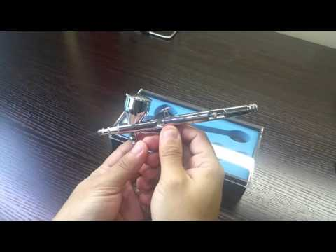 Airbrush HD-180 Unboxing