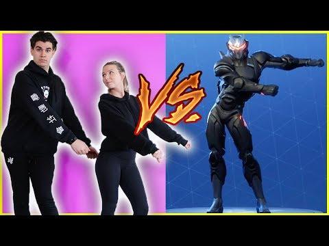 FORTNITE DANCE CHALLENGE IN REAL LIFE! (BOYFRIEND VS GIRLFRIEND)