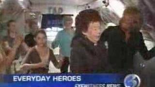 Channel-3 News Former Rockette Everyday Hero Tap Dance
