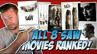 All 8 Saw Movies Ranked From Worst to Best (w/ Jigsaw 2017 Review)