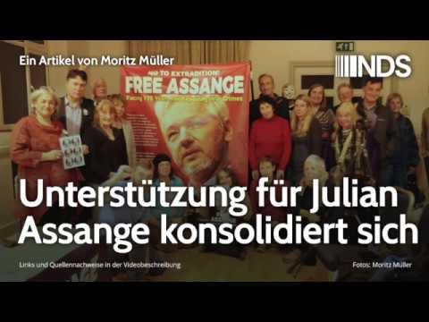 Unterstützung für Julian Assange konsolidiert sich   Moritz Müller   15.11.2019