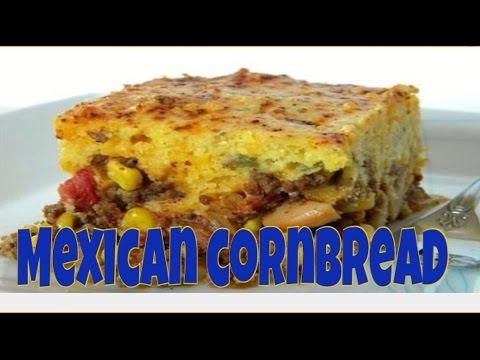 recipe: mexican cornbread casserole recipe ground beef [6]