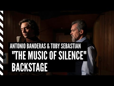 THE MUSIC OF SILENCE Backstage - Antonio Banderas & Toby Sebastian