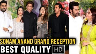 Bollywood Celebrities At Sonam Kapoor And Anand Ahuja Wedding Reception - FULL HD Video